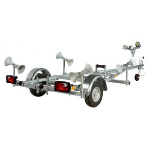 Pega Rubberboot trailers